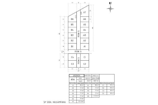 Rp61,6jt Tanah Dijual