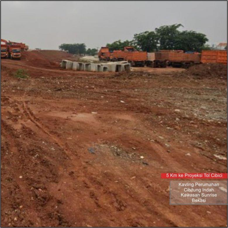 Beli Tanah  Potong Harga 25%: Dekat Tol Cibici, Standar Peruma