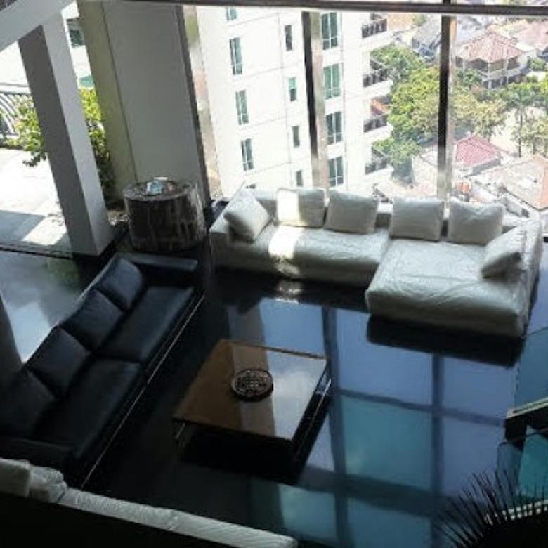 FOR RENT Pakubuwono Residence Penthouse Jakarta Selatan Fully Renovated