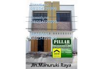 dijual ruko baru dijalan Manuruki, Makassar