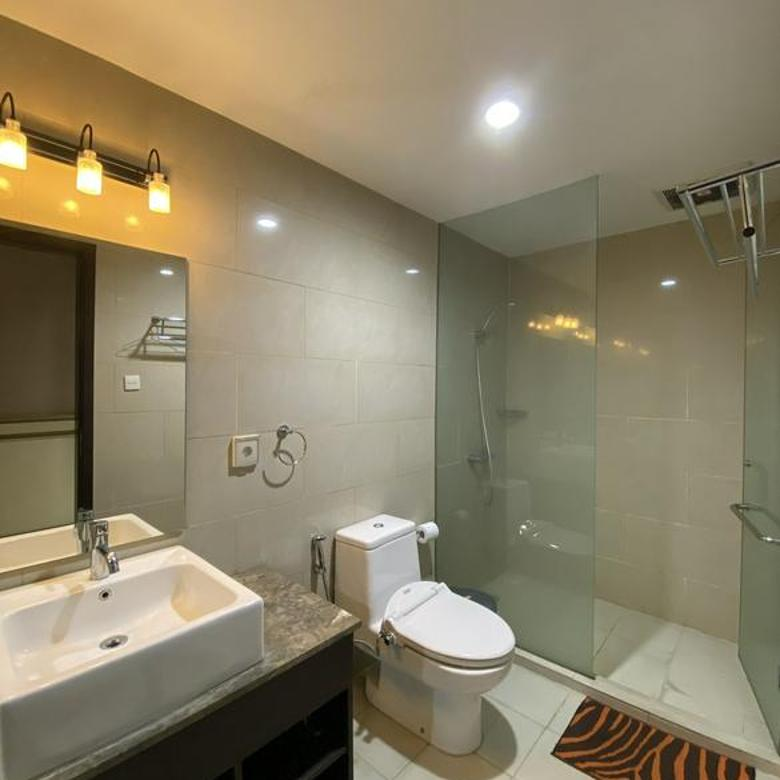 Apt Gandaria Heights 3 bedroom furnished bagus siap pakai with a good view