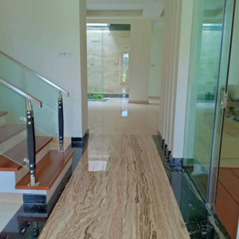 100% GRESS! Rumah MEWAH 2lt Waterfront Citraland FULL MARMER