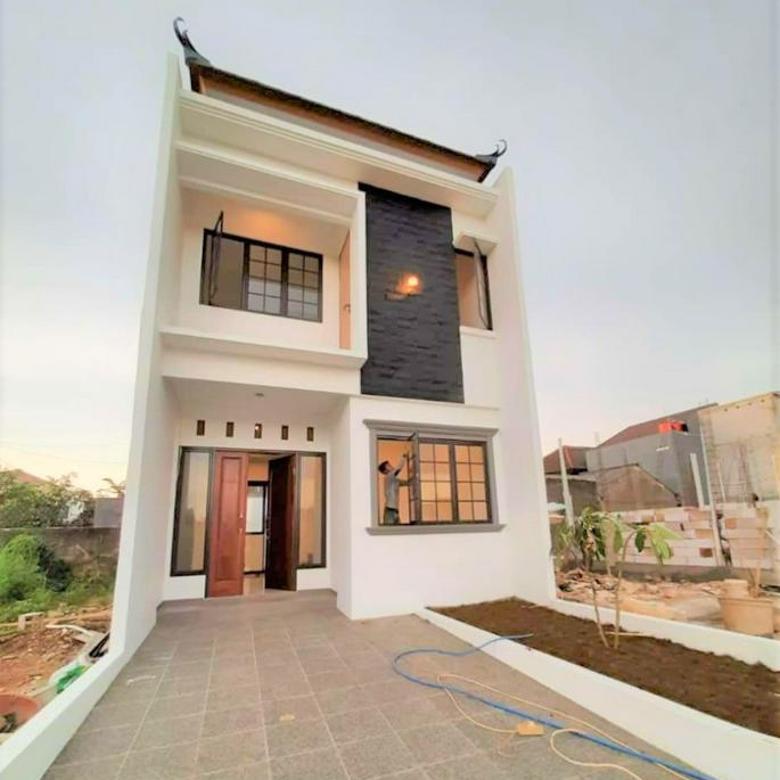 Rumah Mewah 2 Lantai Di Radar Auri Cimanggis Depok Harga Terjangkau