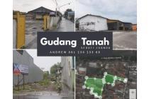 DIJUAL MURAH [5000m2] Tanah & Gudang di dekat Bandara Juanda Surabaya.