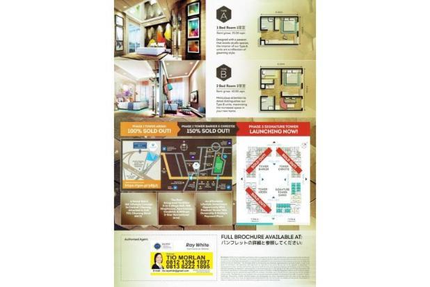 Rp389jt Apartemen Dijual