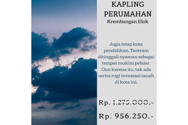 Rp174jt Tanah Dijual