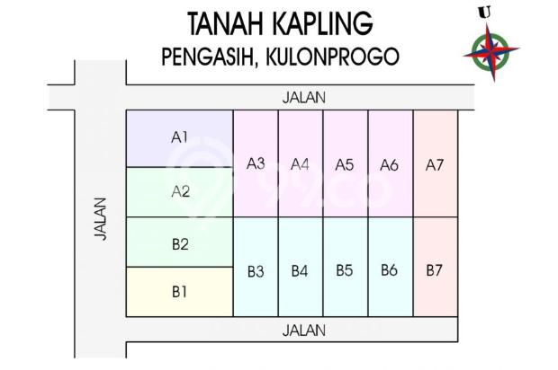 Investasi Kapling Wates Kota, Bisa Cicil 12 X BEBAS BUNGA 17934876