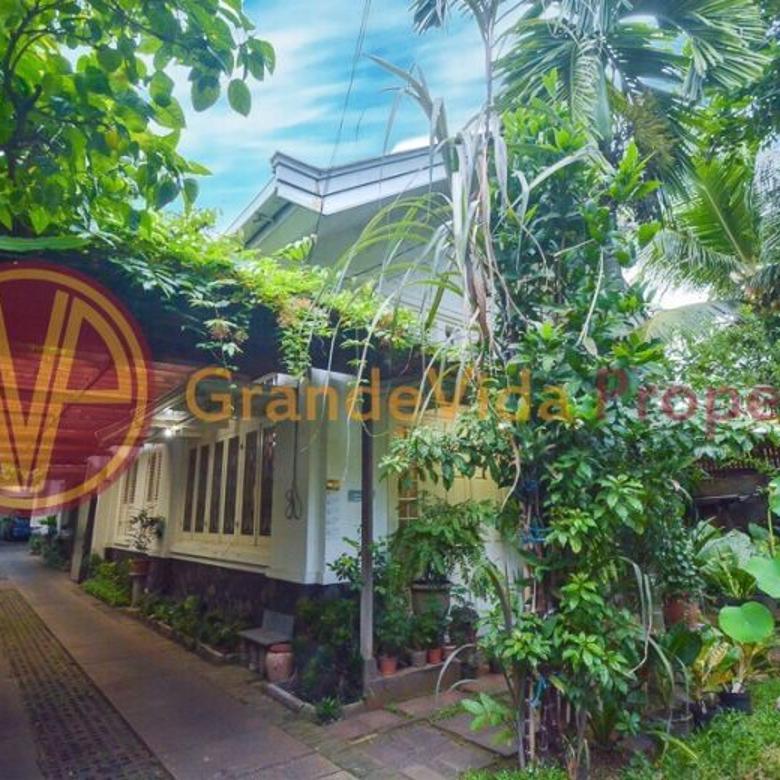 Rumah Menteng Dengan Bangunan Design Kolonial Sangat Terawat, Siap Huni