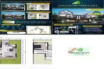 Rumah Dijual Pakansari green city jl.Kesadaran Pakansari Cibinong hks4476