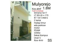 Kos indekos kost Mulyorejo aktif dekat Unair C full furnished