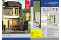 Rumah Siap Bangun 2 Lantai di Wedomartani Dekat Jogja Bay