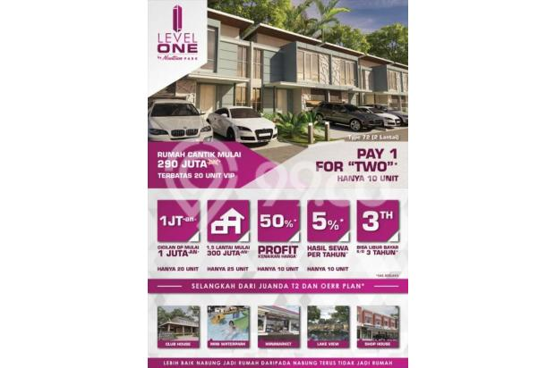 Level One by New Town Park ukuran 6x15 start 290jt selangkah ke Juanda 17995927