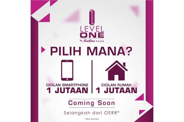 Level One by New Town Park ukuran 6x15 start 290jt selangkah ke Juanda 17995928
