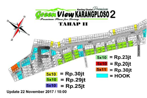 Green View Karangploso 2 tahap 2