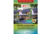 NEW CLUSTER MAHAKAM @JAKARTA GARDEN CITY BY MODERLAND HARGA MULAI 1,8 M-an