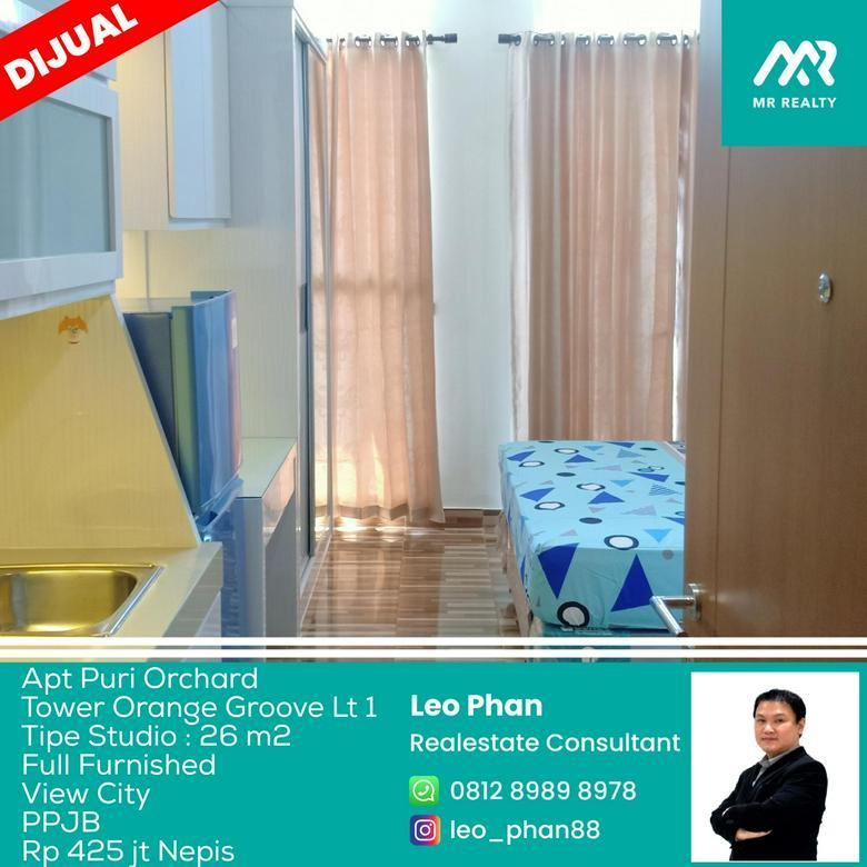 Apartement Puri Orchard Tower Orange Groove Wing B Lt 01, Full Furnished