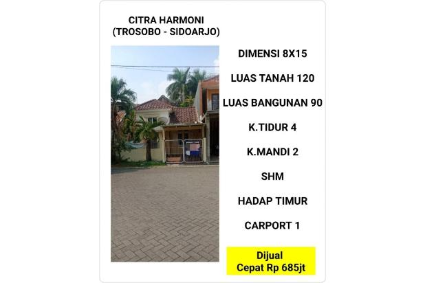 Rp685jt Rumah Dijual