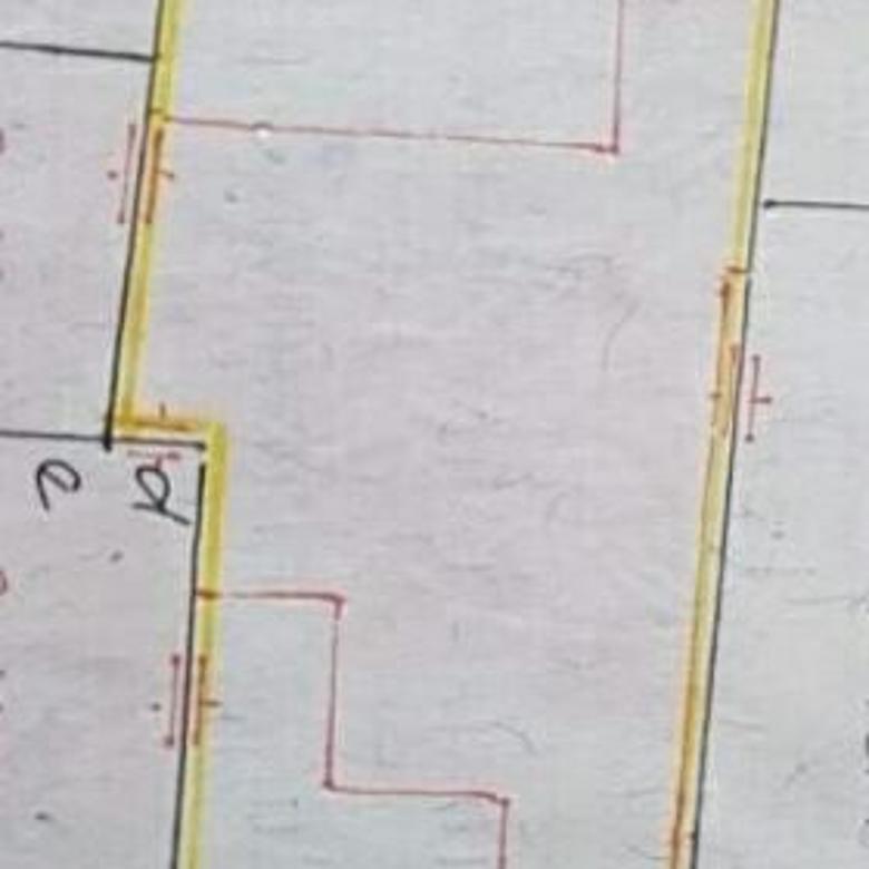 rumah lama luas 532m2 hitung tanah di jelambar