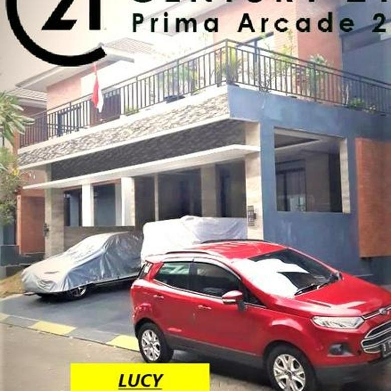 Rumah Hadap Selatan Modern di Discovery Bintaro. 2140-RH 08111119245