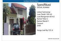 Rumah Siap Huni Sariwangi Bandung
