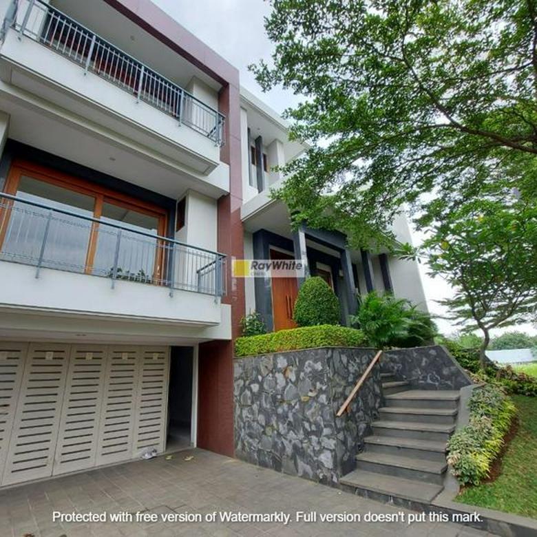 Rumah brand new design apik dalam cluster di Kemang