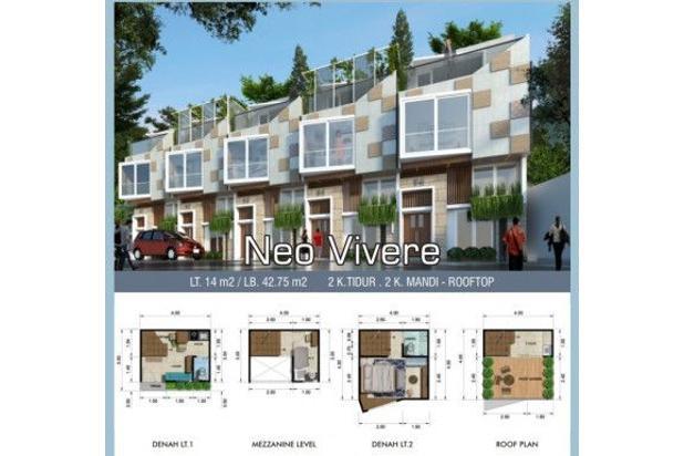Rp834jt Apartemen Dijual