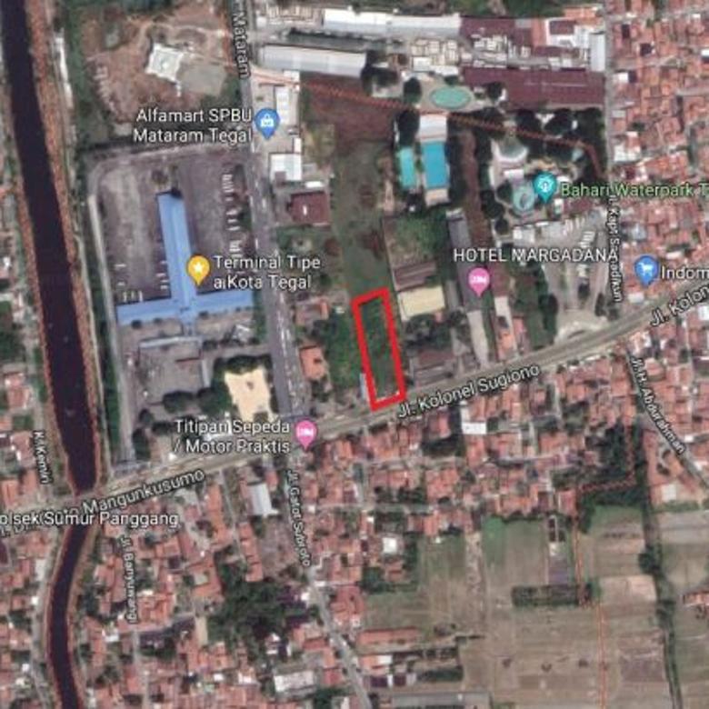 Tanah Dijual Jalan Cipto Mangunkusumo Tegal
