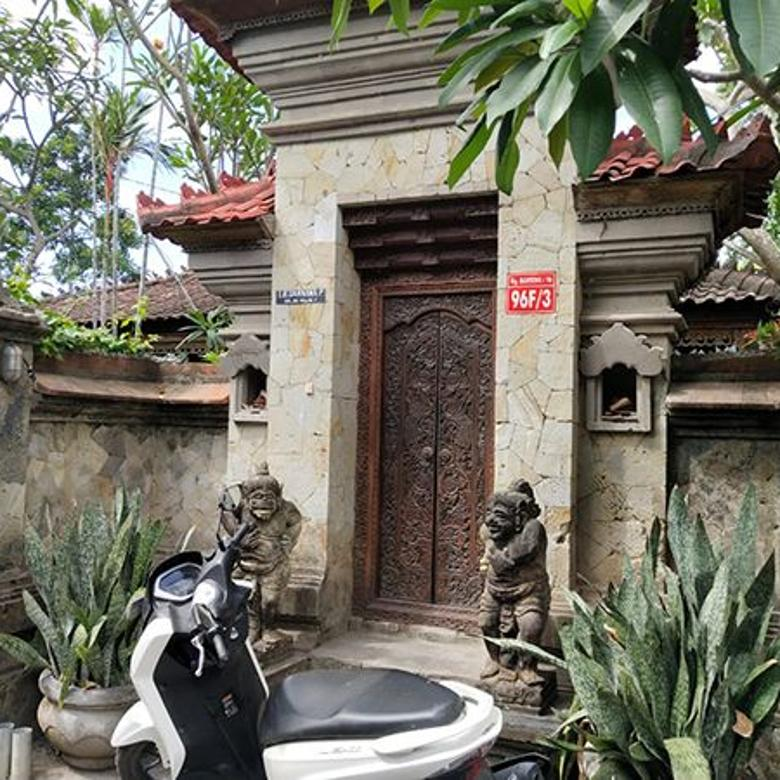 BALIKUBU.COM AMS-058 Rumah Style Bali 800m2 Jl Imam Bonjol Dps