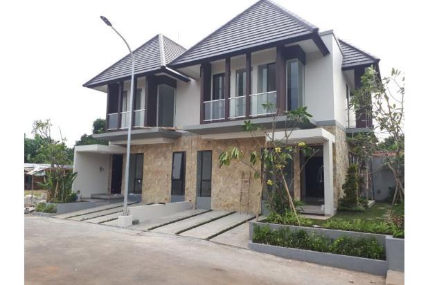 Di Jual Rumah Konsep Resort Di Condet Jakarta timur Bisa KPR Bebas banjir 17113391