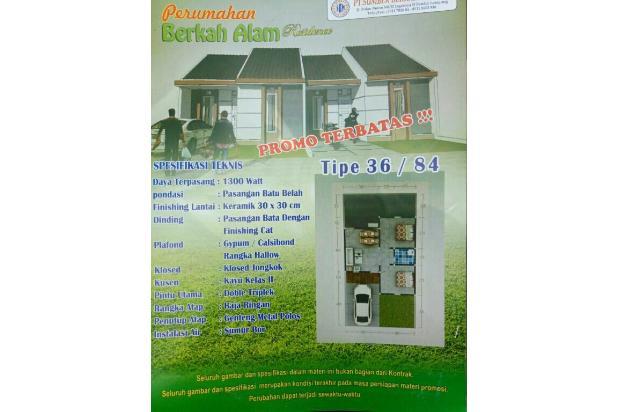 Rumah Subsidi (Murah Poll) Berkah Alam Residence