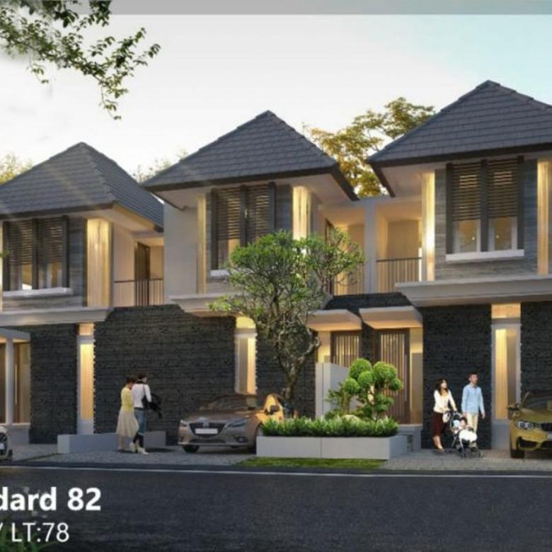 Dijual Rumah Rungkut Asri Timur 2 Lt Hadap Timur (JY-1081)