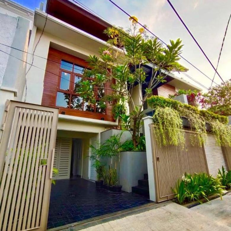 Jual Rumah Baru Blok M Kramat Pela Kebayoran Baru 3 Lantai SHM
