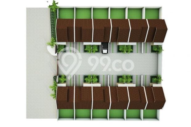 Membeli Rumah di Cluster Wilayah Duren Seribu Bojongsari Depok 9488558