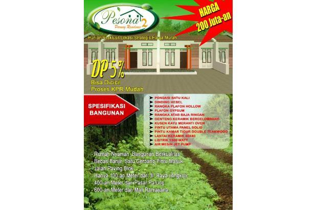 Rumah Baru Cluster Exklusif nyaman strategis di Parung MuRaH 200an juta KPR 13588201