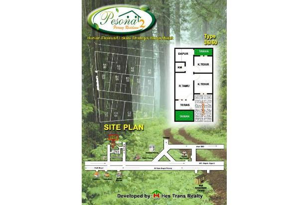 Rumah Baru Cluster Exklusif nyaman strategis di Parung MuRaH 200an juta KPR 13588210