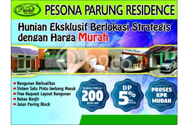 Rumah Baru Cluster Exklusif nyaman strategis di Parung MuRaH 200an juta KPR 13588212