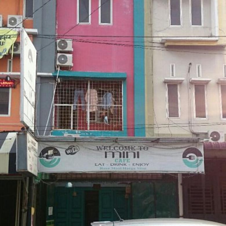 Dijuall Ruko Cafe 4 Lantai berjarak 1 Menit dari UMSU Medan