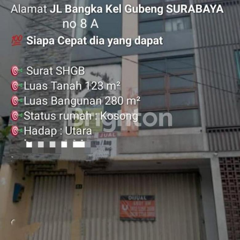 Ruko DIjual di Pusat Kota Surabaya
