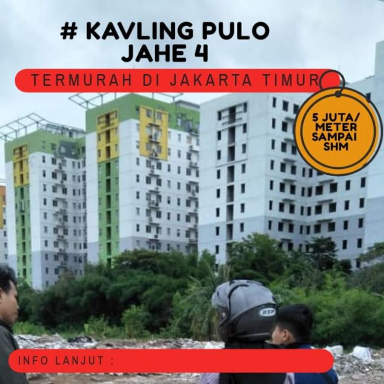Murah Tanah Kavling Perumahan Pulojahe Cakung Jakarta Timur