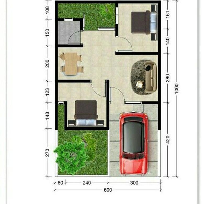 Dijual murah rumah baru lokasi strategis pinggir jalan Malang