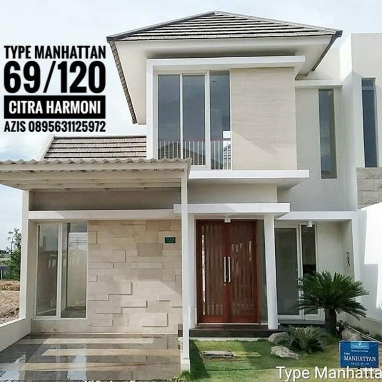 Rumah type manhattan 69/120 Citra Harmoni