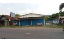 Dijual Bangunan Gudang Di Nol Jalan Raya Minggiran Kediri
