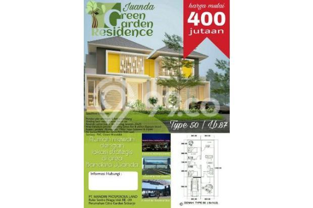 Rumah dekat bandara Juanda Green Garden Juanda akses TOL Surabaya 15403854