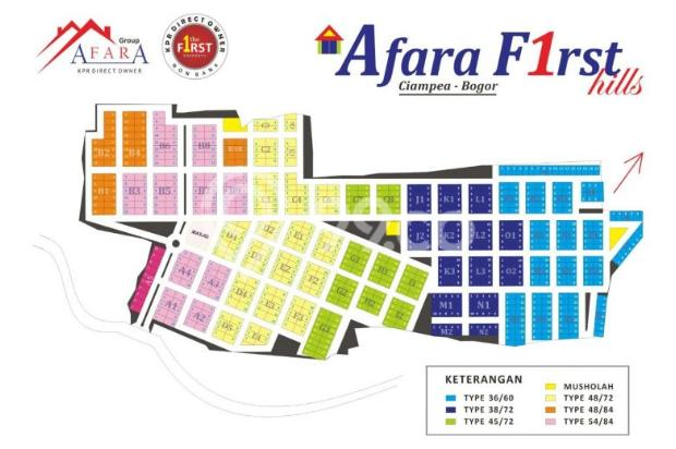 Perumahan Syariah Afara First Hills 9839021