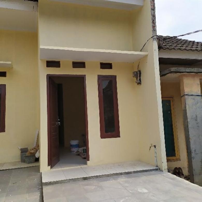 Dijual Rumah 400 jt-an DP NOL ANGSURAN FLAT 30 mnt Rawa Buntu