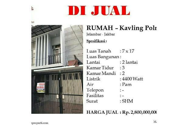 Rp2,8trily Rumah Dijual