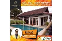 Villa dengan View Sawah dan Perbukitan di Kekeri Lombok Barat, NTB. 2 Bangu