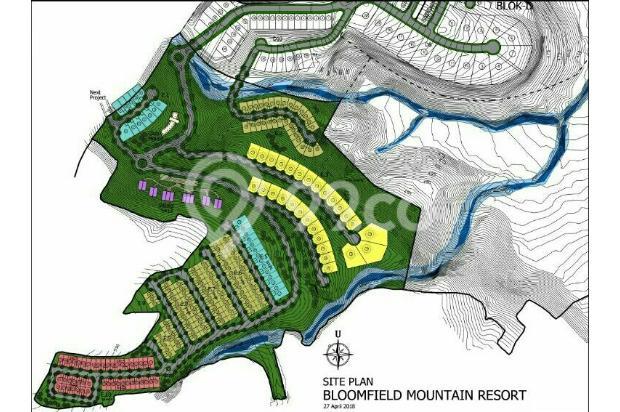 CLuster Terbaru Bloomfield Mountain Resort - The Taman Dayu Villa 17699739