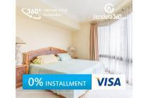 Taman Anggrek Apartment 2+1BR City View (bisa cicil 12x)