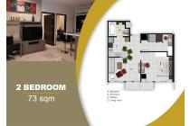 Bekasi Apartment MGold Tower (2 BR - 73m)